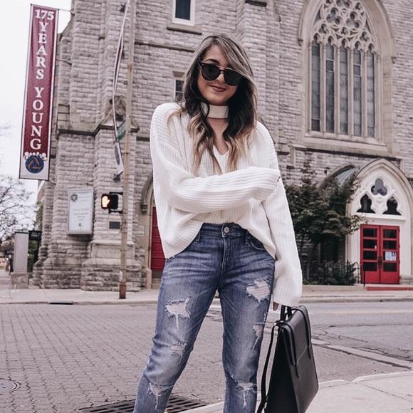H&M Sweaters - White hm sweater